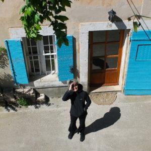 Aline Maison d'hôtes Les Volets Bleus Provence
